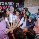 Aksi Women's March: Tolak Kebijakan yang Diskriminatif terhadap Perempuan