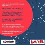 Ngobrol di Twitter tentang Janda