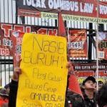 Aktivis: Pemerintah Menghina dan Polisi Lakukan Represi Dalam Aksi Tolak Omnibus Law Cipta Kerja