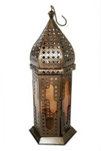 Moroccan hanging lanterns as Christmas gifts by Konecrafts