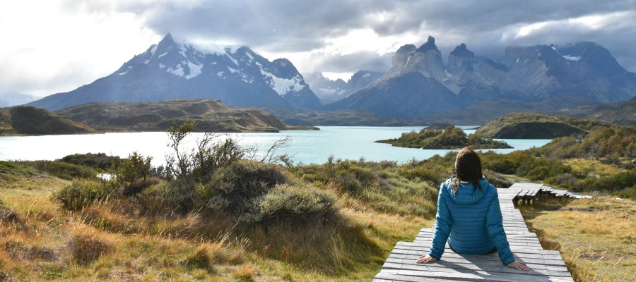 Hiking and driving in Torres del Paine