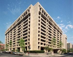 Hauptsitz IWF - Bildquelle: Wikipedia / International Monetary Fund