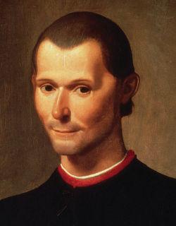 Niccolo Machiavelli - Bildquelle: Wikipedia
