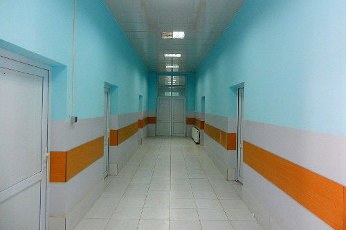 Krankenhaus vor den Angriffen - Bildquelle: www.theantimedia.org