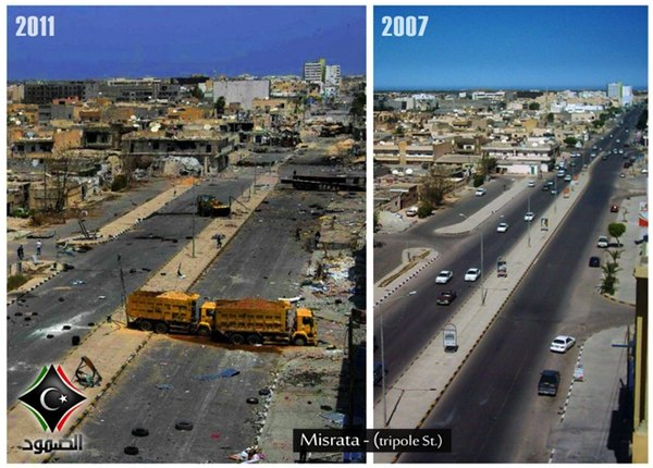 Libyen 2007-2011 - Bildquelle: www.thedailysheeple.com