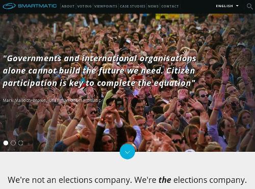 Smartmatic - Bildquelle: Screenshot-Ausschnitt www.smartmatic.com