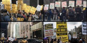 Proteste zu Syrienangriff - Bildquelle: www.activistpost.com