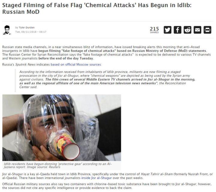 Zerohedge False Flag-Operation - Bildquelle: Screenshot-Ausschnitt Zerohedge