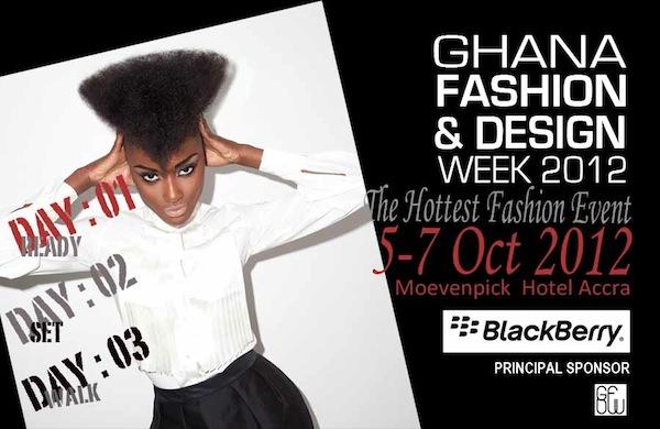 GHANA FASHION AND DESIGN WEEK 2012