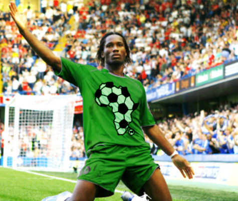 Drogba Top 20 Nations in Football as at December 2012