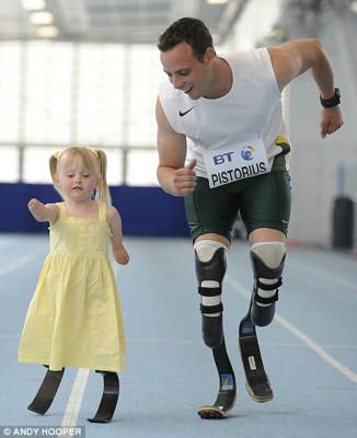 Oscar Pistorius Inspirational People in 2012
