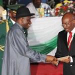 Jim Ovia and President Jonathan