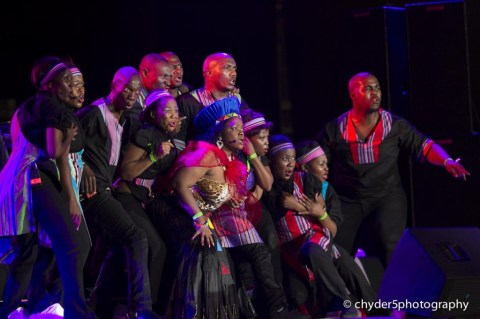 The Soweto Spiritual Singers doing their thing. You need to see this group perform. Amazing!!