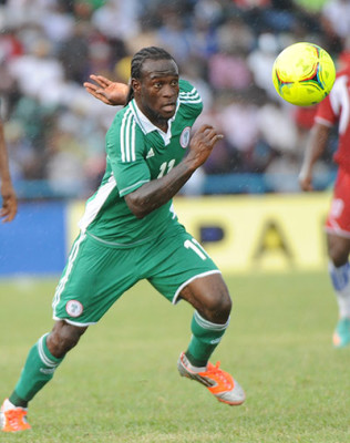 Nigeria's Victor Moses