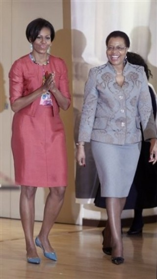 Michelle Obama, Graca Machel