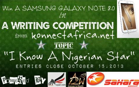IKnowaNigerianStar Writing Competition