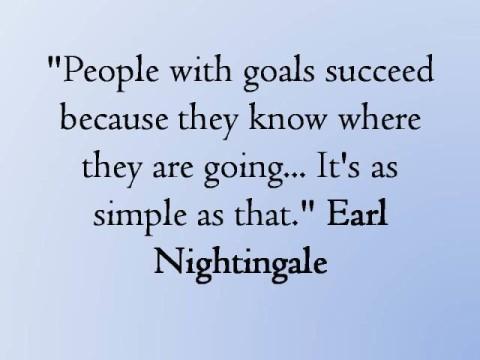 Earl Nightingale on Goals