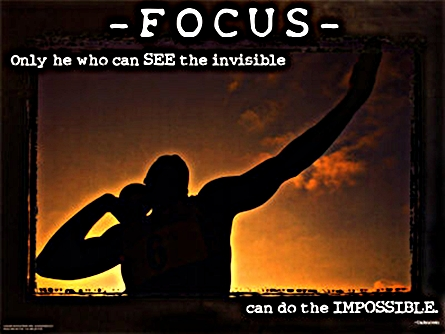 Only He who sees the invisible...