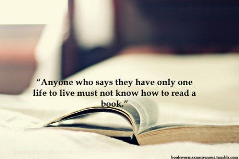 Reading - Quote Anyone who says