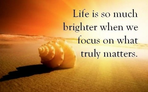 focus-on-what-truly-matters