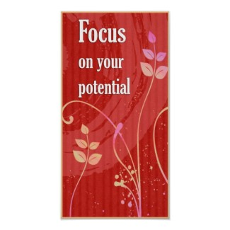 focus_ on your potential