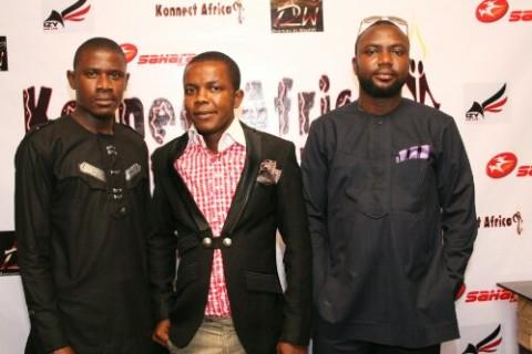 Prince of Africa, Comedian ChimaRalph and Babatomiwa adesida