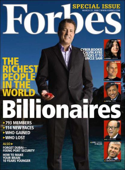 Brand King on wealth