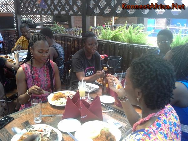 Lovelyn Okafor and Naa Achere; Bon Appetit!