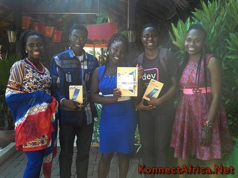 A Winning Team! L-R: Jennifer Nkem-Eneanya, Umar Nazir, Mabel Blankson, Naa Achere and Lovelyn Okafor