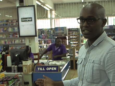 Matthew Kabonero and Daniel Ndahiro