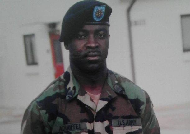 US. Army Sgt. Francis Aduoffei
