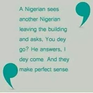 Pidgin English Nigeria