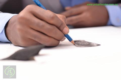 Ayokanmi and Tolu Binutu - Doing Business with Art, Design, Portraits, Painting
