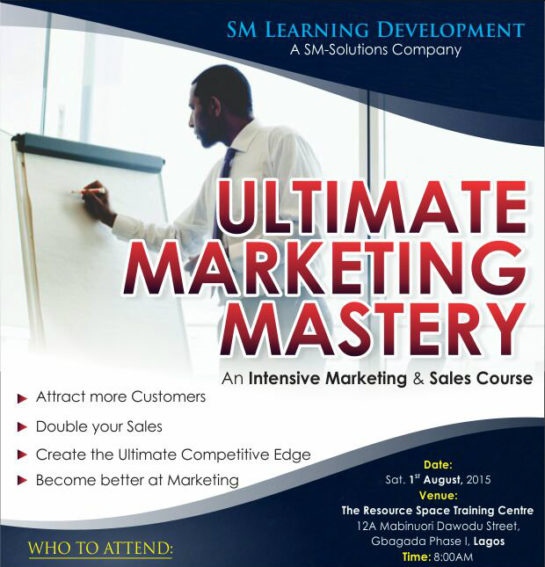 Testimonials on the Ultimate Marketing Mastery