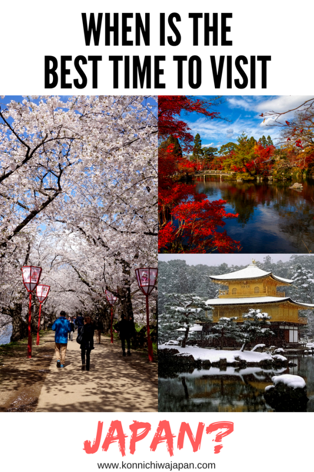 When is the best time to visit Japan? Read more about what each season has to offer