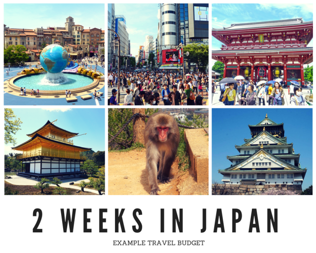 How to Create a Japan Travel Budget - 2 Weeks in Japan Travel Budget