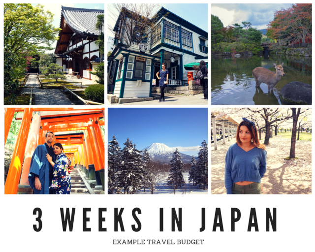 How to Create a Japan Travel Budget - 3 Weeks in Japan Travel Budget