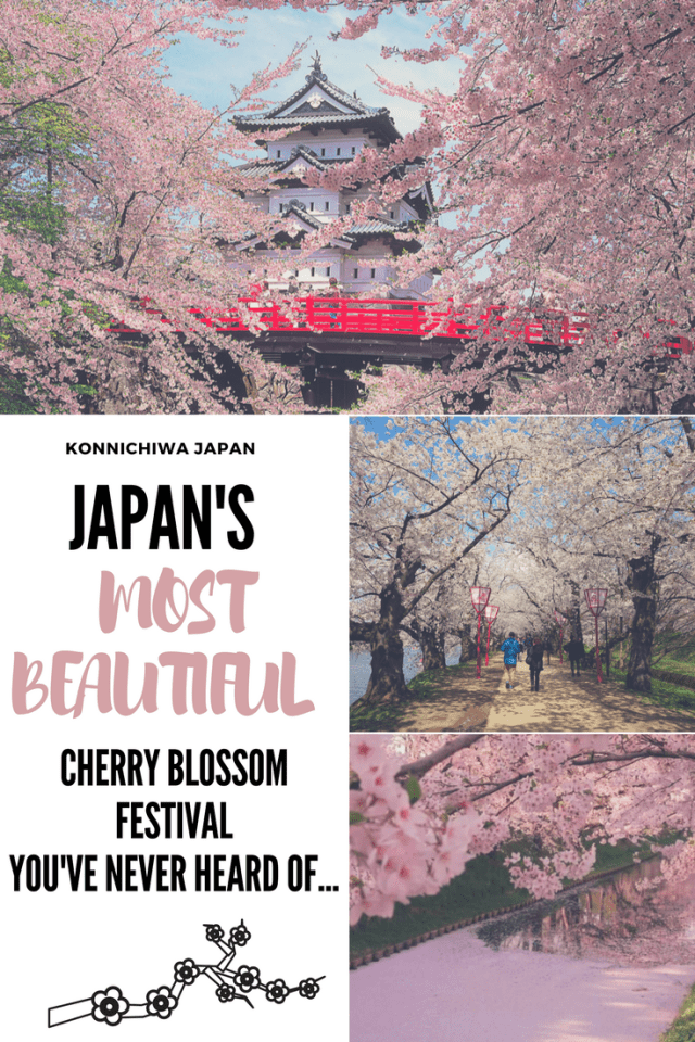 Japan's Most Beautiful Cherry Blossom Festival You've Never Heard Of - Konnichiwa Japan