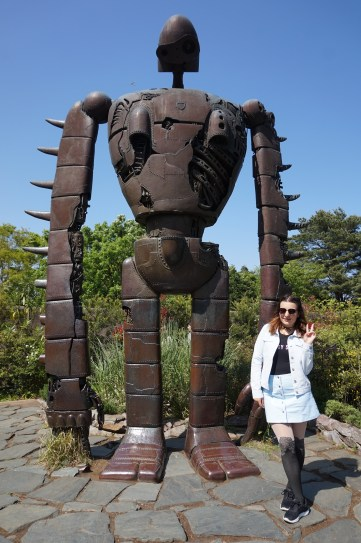 The Anime Lover's Guide to Studio Ghibli Museum - Robot Soldier from Laputa Castle in the Sky