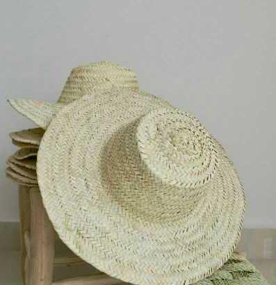 قبعات القش المغربية التقليدية