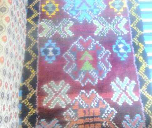 زربية مغربية  صناعة يدوية