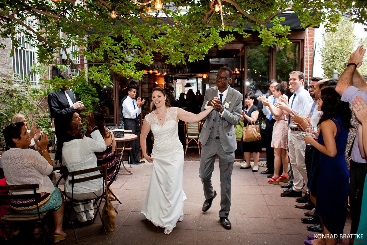 Brooklyn Restaurant Wedding At Bacchus Bistro