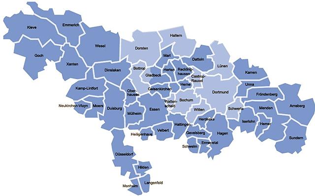 Die regionalen  Communities bei Lokalkompass.de