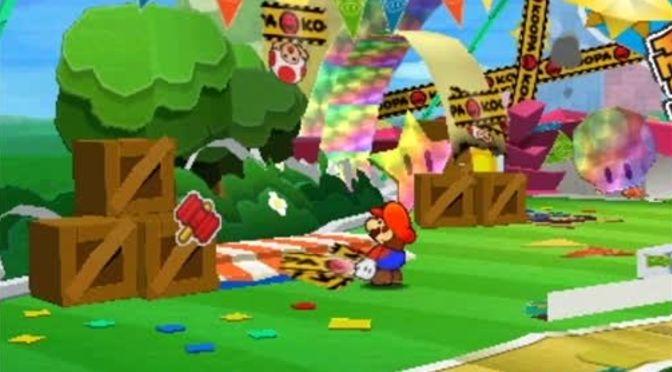 Paper Mario Sticker Star … ich kleb` dir gleich eine