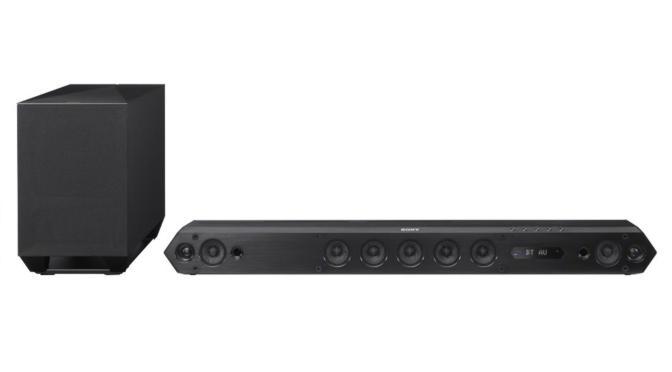 Hardwaretest: Sony HT-ST3 - die schmalste Soundbar der Welt