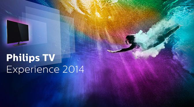 Philips TV Experience 2014 - man spricht Android