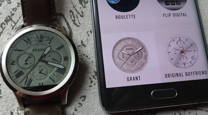 Hardwaretest: Fossil Q Founder - das Handy am Handgelenk