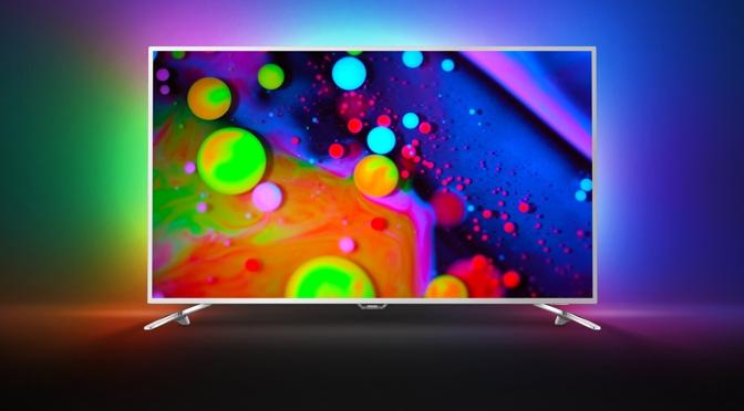 neue Philips TV mit Ambilight, OLED, neuer P5 Engine für Android M, Bildverbesserung und HLG