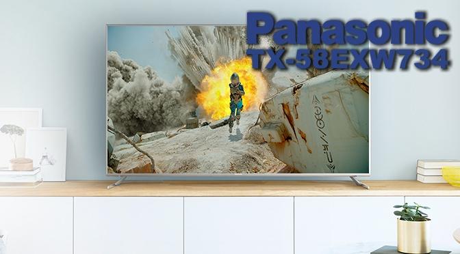 Hardwaretest: Panasonic TX-58EXW734 Viera - wenn grau zu schwarz wird