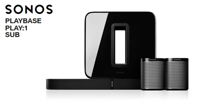 Hardwaretest: SONOS Playbase - Play:1 - Sub - simply clever
